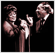 Ella Fitzgerald and Duke Ellington